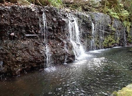 千条の滝湯坂路180409