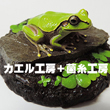 2018_カエル工房_菌糸工房_logo
