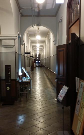 洋館 廊下