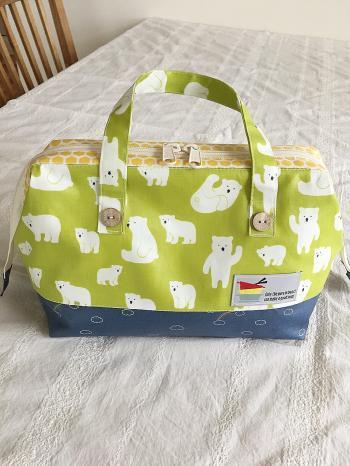 デコレクションズのビニコで、すべらないランチバッグを作りました