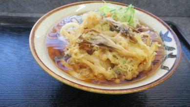 今週のおすすめ(野菜かき揚天・うどん@390円