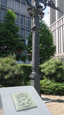 東京市道元標と道路元標