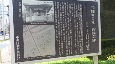 石町時の鐘跡