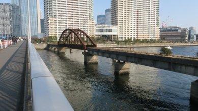 東京都港湾専用線と鉄橋