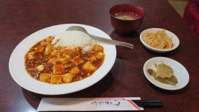 麻婆豆腐丼@620円