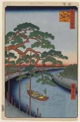 小奈木川五本まつ 百景