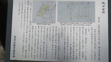 墨田の宿跡