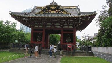 台徳院霊廟惣門(重文)