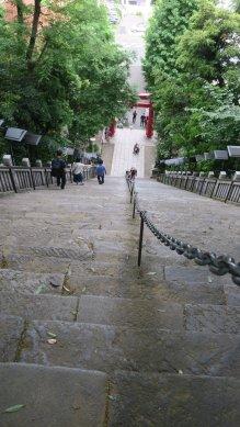 愛宕神社石段