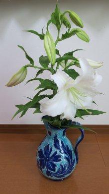 花瓶に活ける