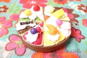 8種のケーキアソート
