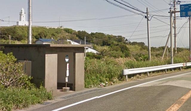 洲崎神社 バス停