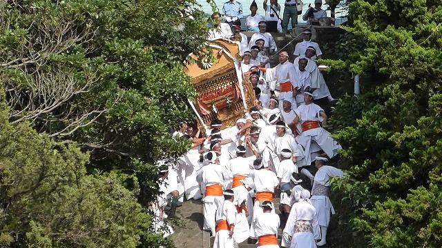 洲崎神社 大神輿