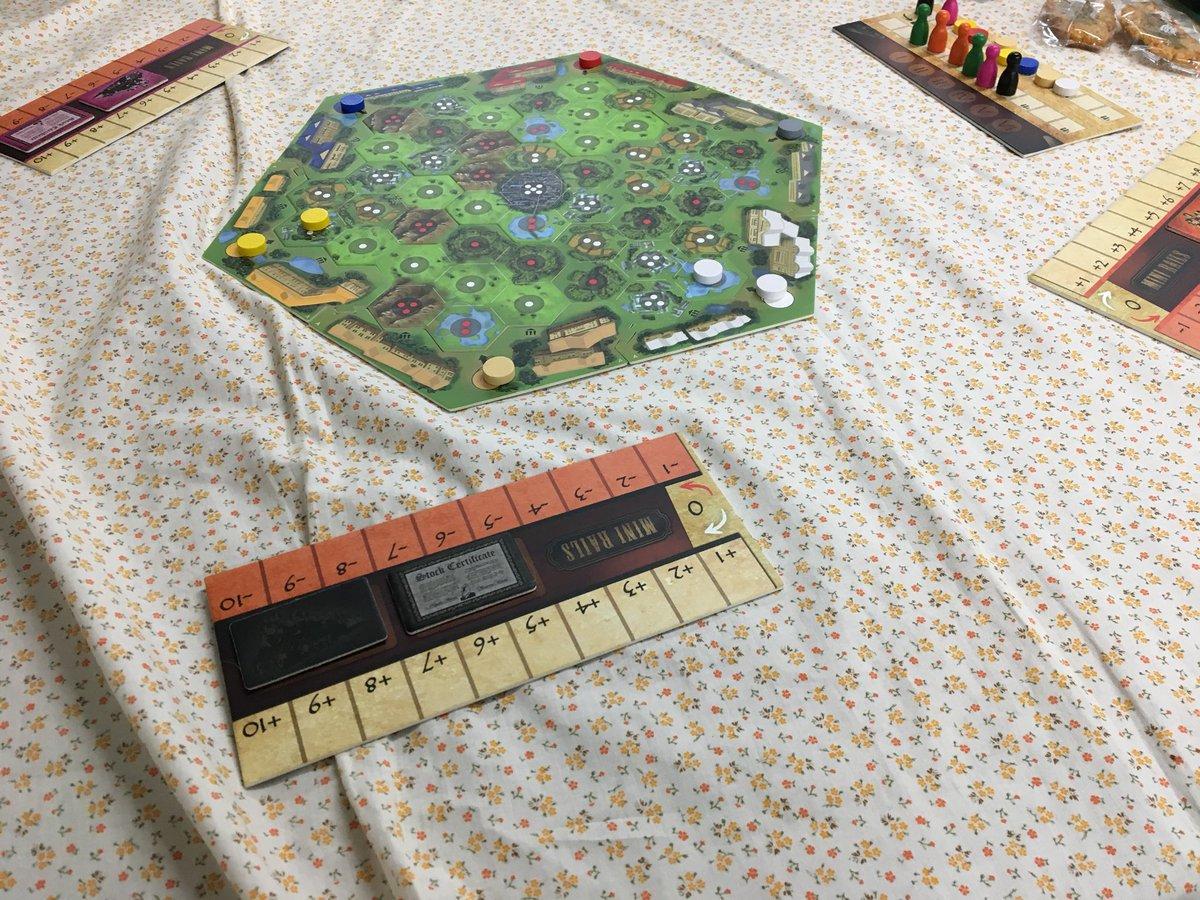 線路と株の悩ましいゲーム