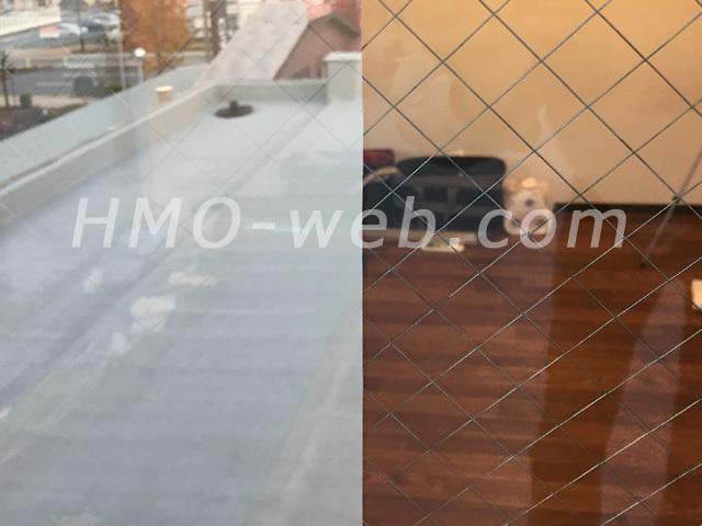 シルバー15Xとガラスの比較