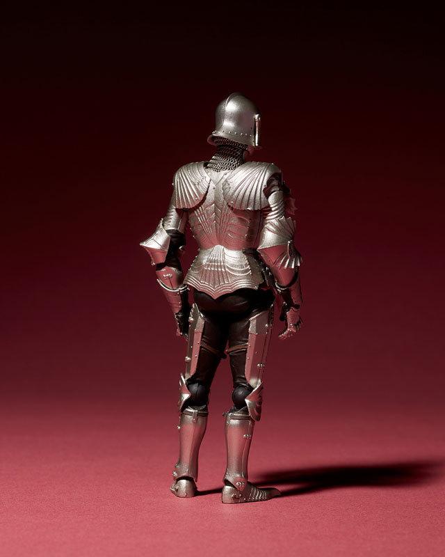 KT-021 タケヤ式自在置物 15世紀ゴチック式フィールドアーマー シルバFIGURE-040394_02