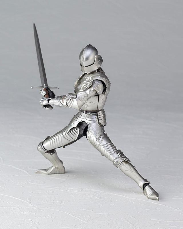 KT-021 タケヤ式自在置物 15世紀ゴチック式フィールドアーマー シルバFIGURE-040394_04