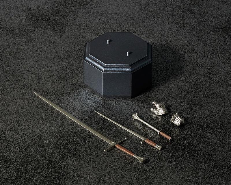 KT-021 タケヤ式自在置物 15世紀ゴチック式フィールドアーマー シルバFIGURE-040394_06