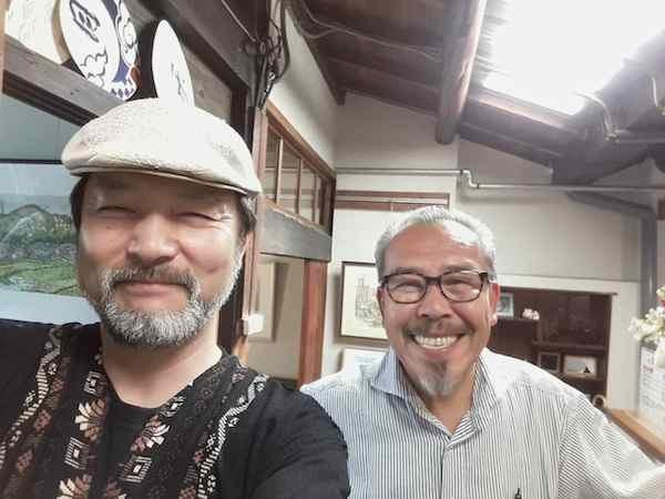 竹居さんとツーショット