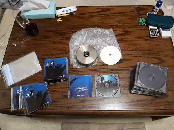 CD「石笛」つくり