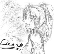 エレナ姉さんと桜