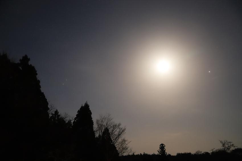 20180405木星・月・土星・火星2