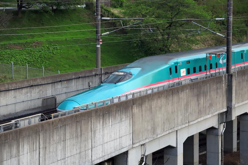 20180505夕方の下り新幹線