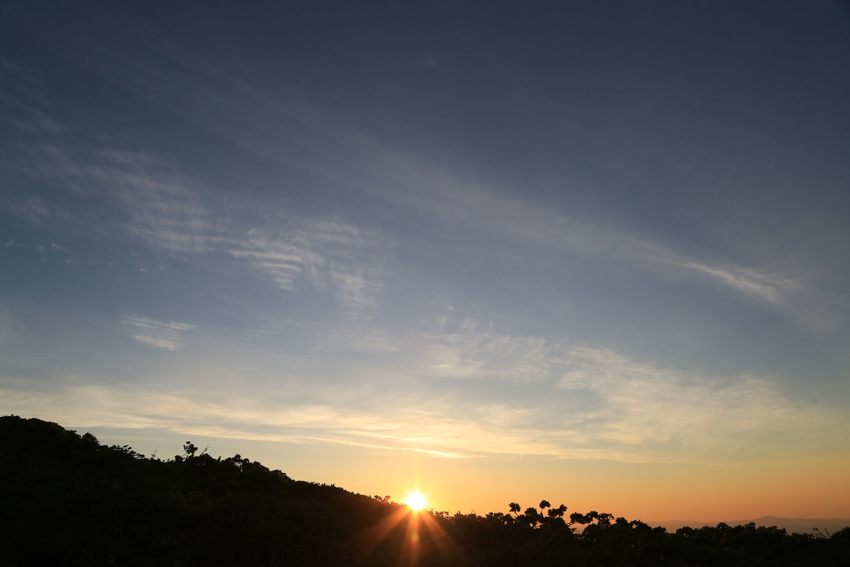 20180623朝陽が見えた