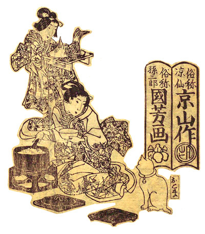 歌川国芳猫草紙