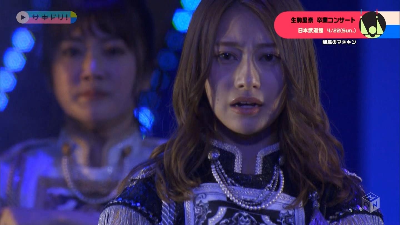 乃木坂46生駒里奈卒業コンサート 制服のマネキン 桜井玲香