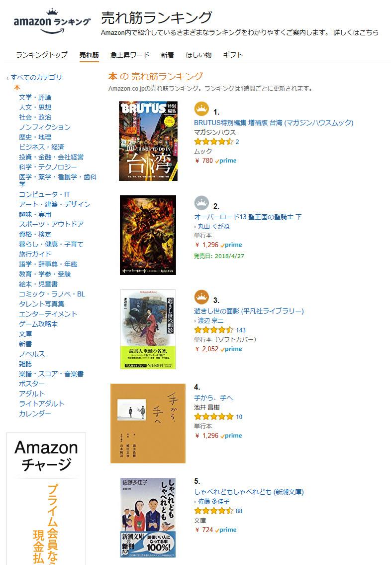 Amazon.co.jp 売れ筋ランキング: 本