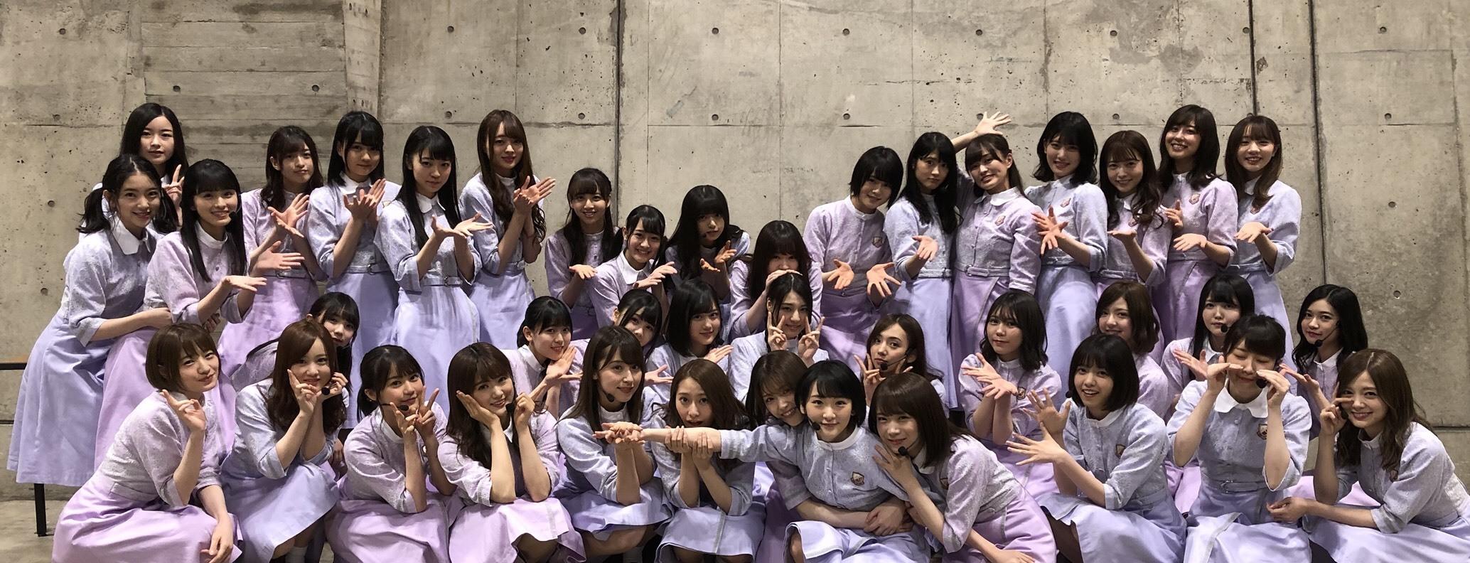 乃木坂46生駒里奈最後の集合写真