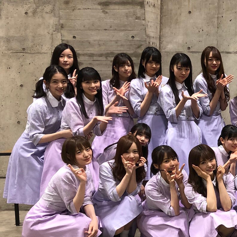 乃木坂46生駒里奈最後の集合写真 堀未央奈