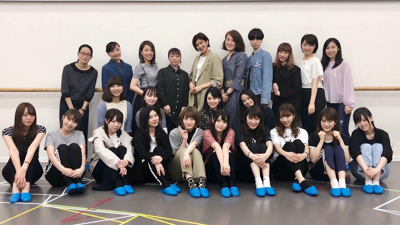 乃木坂46版ミュージカル「セーラームーン」顔合わせでのキャスト集合写真