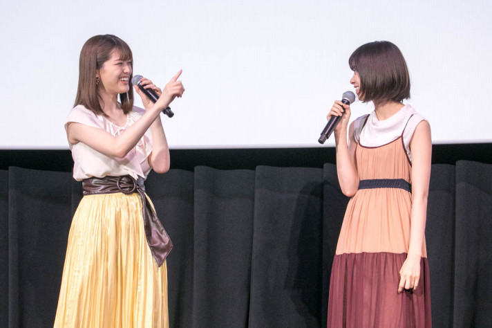 映画『あさひなぐ』SPトークイベント 松村沙友理