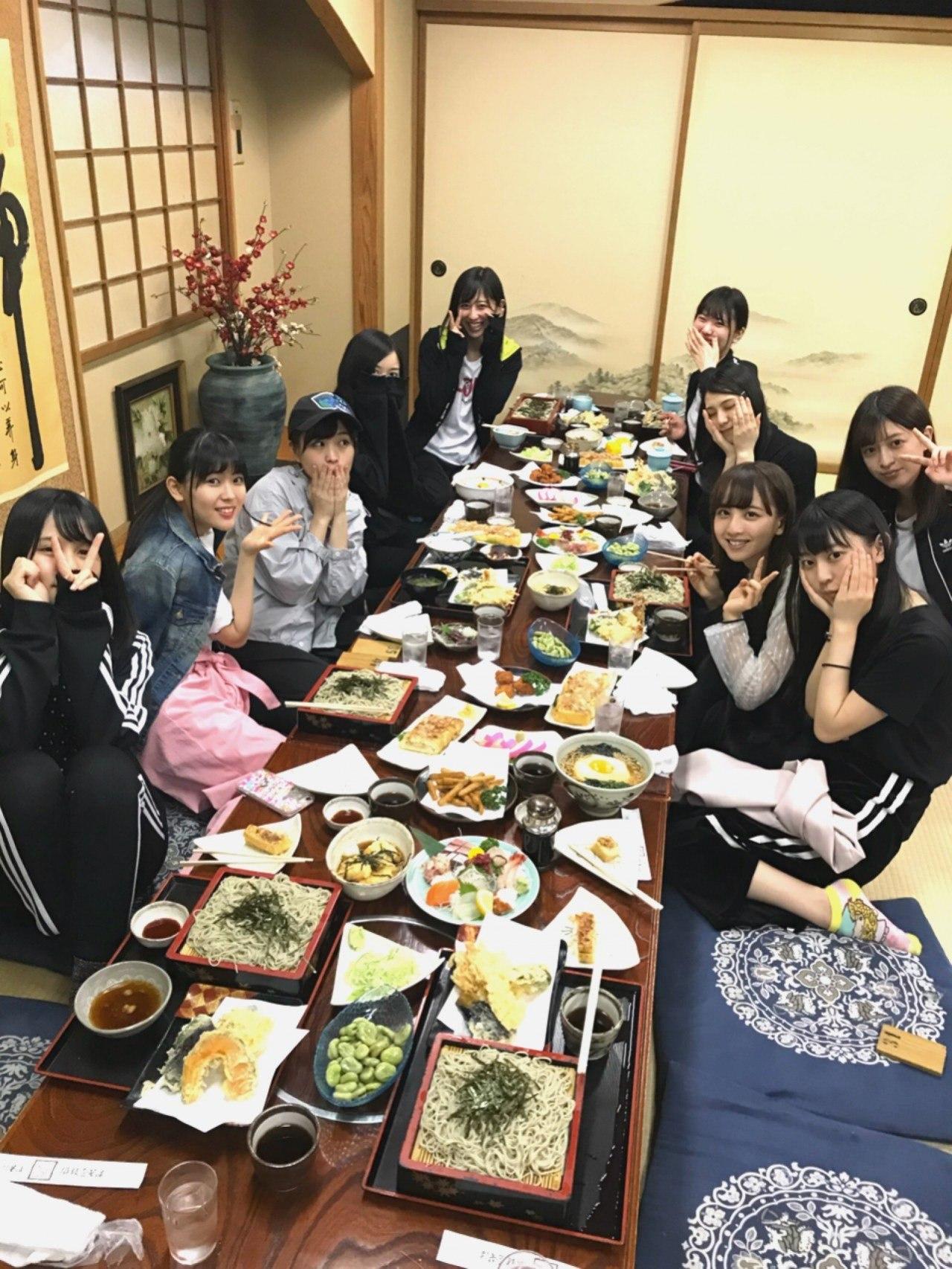 乃木坂46アンダーライブ新潟ご飯会