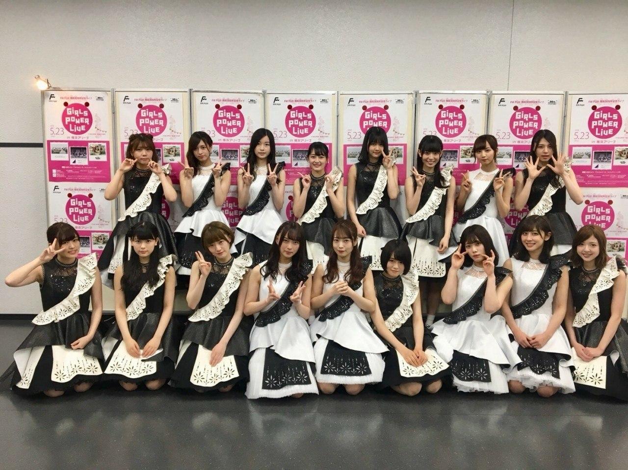【乃木坂46】中田+アンダラ中部メン「GIRLS POWER LIVE」集合写真