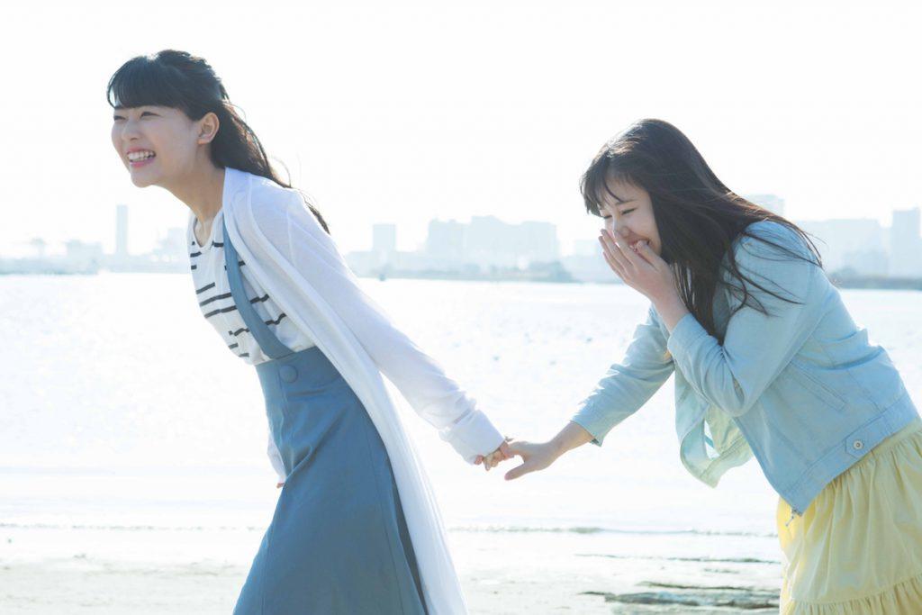 乃木坂46・3期生連載 伊藤理々杏&岩本蓮加のお台場デート