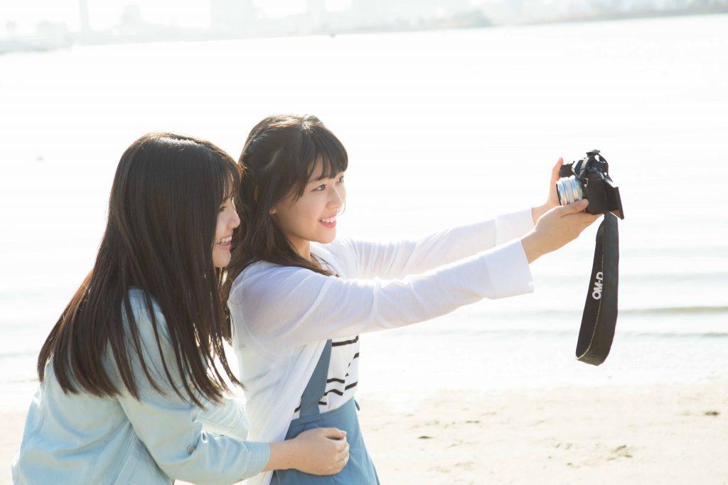 乃木坂46・3期生連載 伊藤理々杏&岩本蓮加のお台場デート2