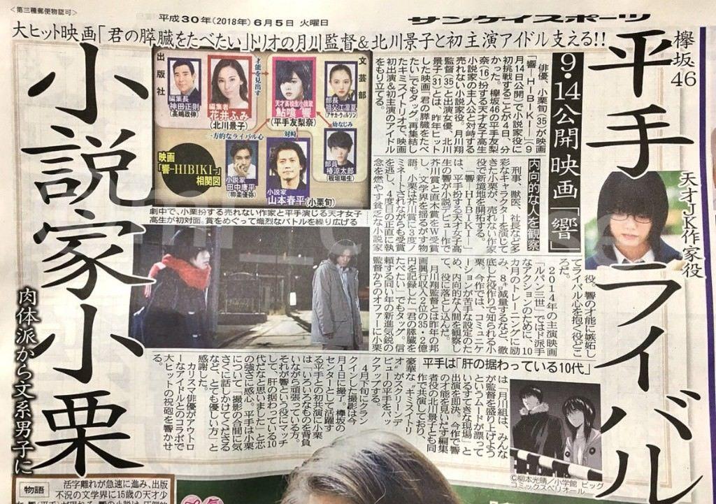 映画『響 -HIBIKI-』 小栗旬3