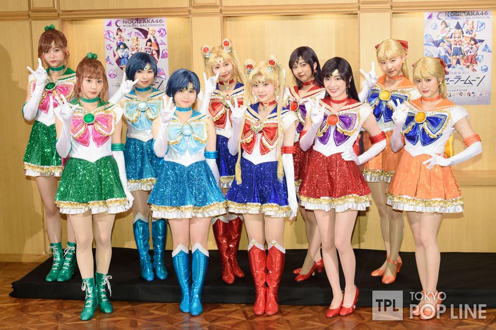 乃木坂46版ミュージカル「美少女戦士セーラームーン」公開ゲネプロ4
