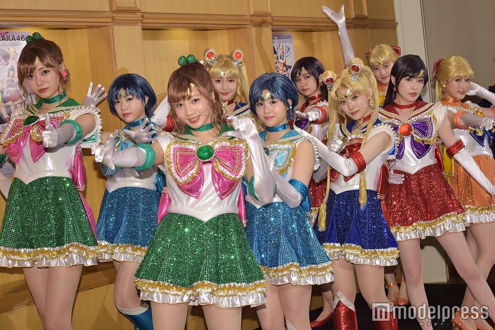 乃木坂46版ミュージカル「美少女戦士セーラームーン」公開ゲネプロ3