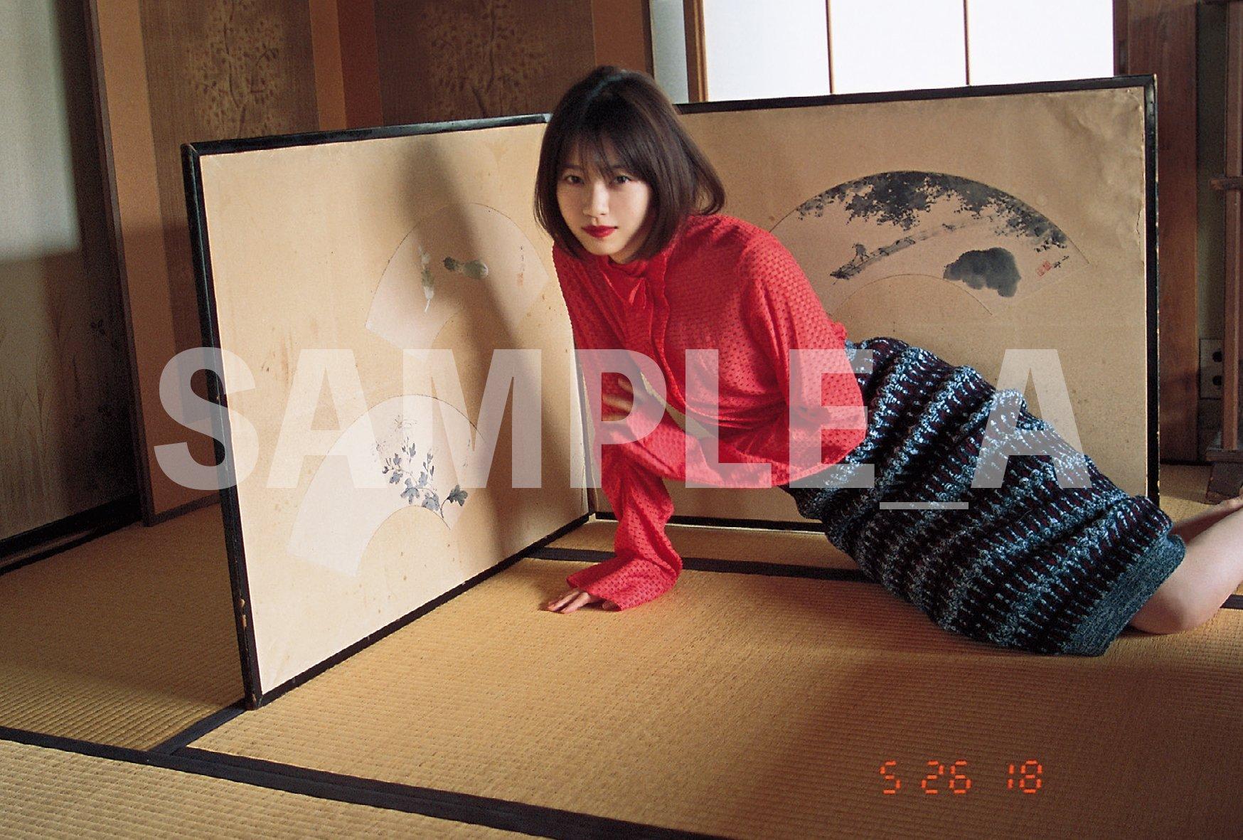 OVERTURE No.015 西野七瀬ポストカード SHIBUYA TSUTAYA
