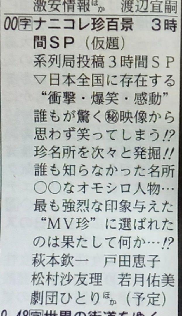 松村沙友理 ナニコレ珍百景