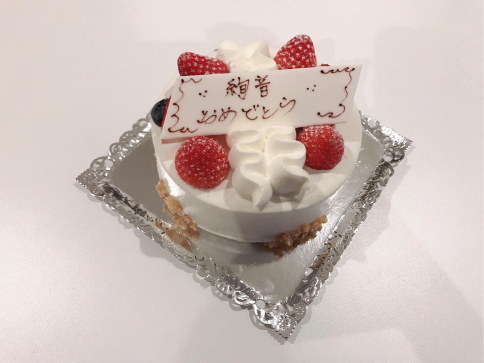 鈴木絢音 ケーキ