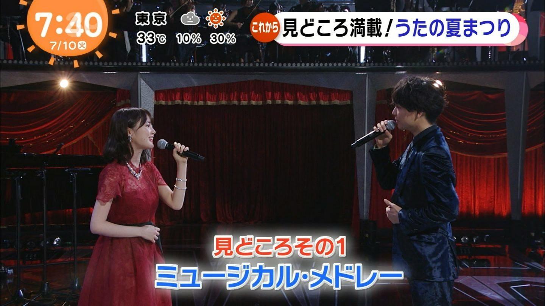 2018FNSうたの夏まつり 生田絵梨花 山崎育三郎 ミュージカル・メドレー4
