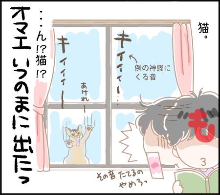 窓を叩く音4