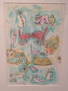 猪熊弦一郎展 猫たち-11