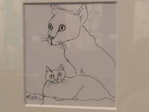 猪熊弦一郎展 猫たち-9