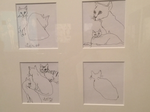 猪熊弦一郎展 猫たち-8